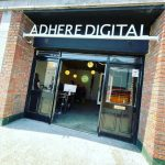 Adhere Digital Front of the Office